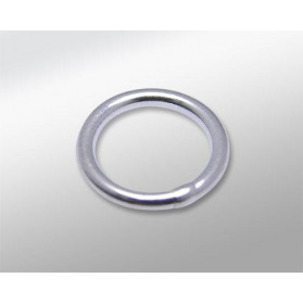 SOLDERED SILVER STERLING 10MM RING (ID 8MM) WIRE 1MM