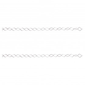 SILVER CHAIN  60 ( X METERS )