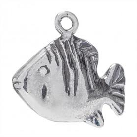 13X10 MM TROPICAL FISH PENDANT