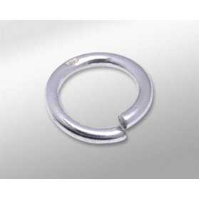 SILVER JUMP RING 12MM WIRE 1,5MM