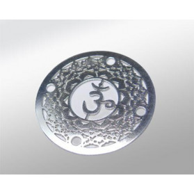 STERLING SILVER 925 SAHASRARA CHAKRA CONNECTOR 24MM