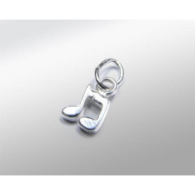 SILVER 925 MUSICAL NOTE PENDANT