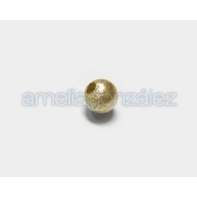 BOLA METAL SATINADO 9MM BRONCE ANTIGUO