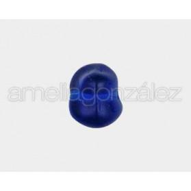 CRISTAL CANTO RODADO 18X10MM CAPRI BLUE (ID 1.25MM) 50 UNID