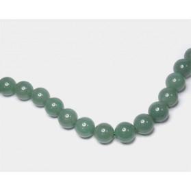 Hilo Aventurina verde bolas