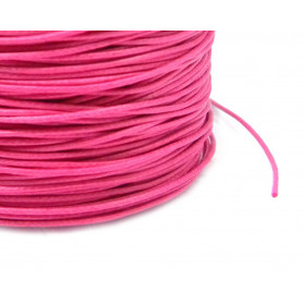 1,30 MM WAXED COTTON LACE 319 FUCHSIA 100 M