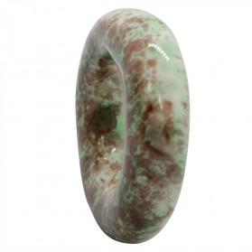 24X6 GREEN GRANITE POTTERY DOUGHNUT