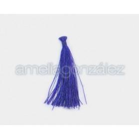 POMPON PASADO NYLON 35MM ROYAL BLUE