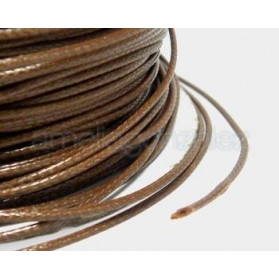 CORDON ENCERADO 1MM -100 MT 054 MARRON CLARO -CARRETE