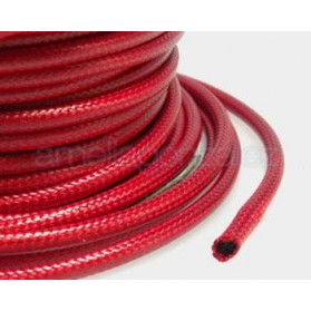 CORDON ENCERADO 3MM -30 MT 009 ROJO OSCURO -CARRETE