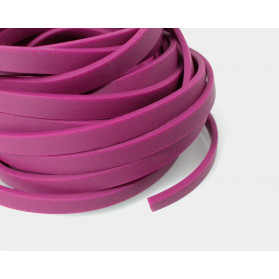 MAGENTA COLOR 11X3MM FLAT RUBBER