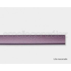 METALLIC LILAC 11X3MM FLAT MT RUBBER