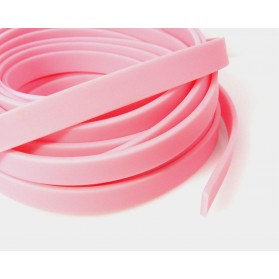 PINK COLOR 10X2 FLAT RUBBER