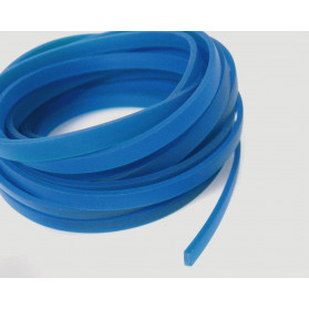 GP BLUE COLOR 11X3MM FLAT RUBBER