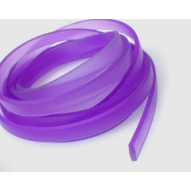 PURPLE COLOR 11X3MM FLAT RUBBER