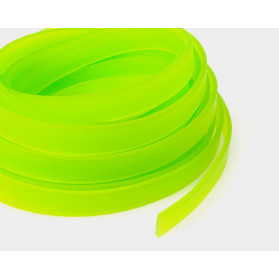 ACID GREEN 10X2MM FLAT RUBBER