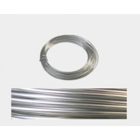 2 MM MALLEABLE ALUMINIUM WIRE BRIGHT SILVER -12 M