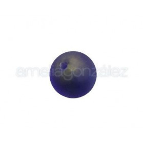 BOLA BASE ORO 18MM (ID 1,5MM) MATE AMATISTA
