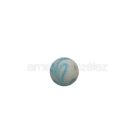 BOLA 12 MM DECORADO ONDAS (ID 2MM)