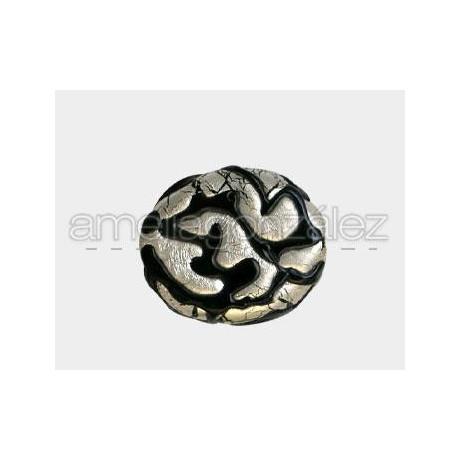 CRISTAL OLIVA (ID 1MM) -1 UN NEGRO-PAN DE PLATA