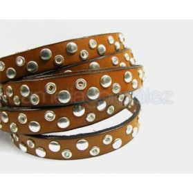 BAND 10X2MM WITH STUDS AND RIVETS