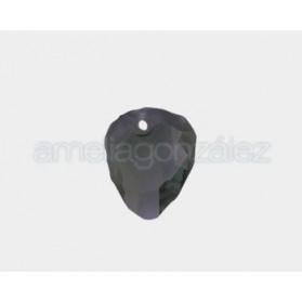 COLG. BRIO BARROCO 23MM-6PCS 215 BLACK DIAMOND SWAROVSKI