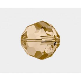 BOLA 6MM-60PCS 001 GOLDEN SHADOW  SWAROVSKI