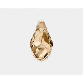COLG. BRIOLETTE 7X4-48PCS 001 GOLDEN SHADOW SWAROVSKI