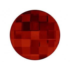 DAMERO REDONDO 10MM-12PCS 001 RED MAGMA SWAROVSKI