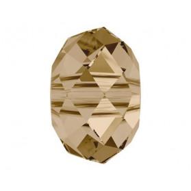 LENTEJA FACETADA 18MM-2PCS 001 GOLDEN SHADOW SWAROVSKI