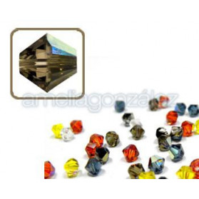 TUPPI 4MM-120PCS 225 AB SMOKY QUARTZ SWAROVSKI