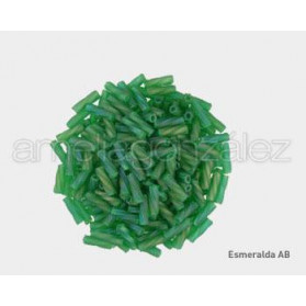 ROCALLA MATSUNO ESPIRAL 6 MM N.22F AB ESMERALDA (100 GR)
