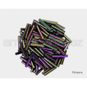 ROCALLA MATSUNA TUBO RECTO 12MM 613 PURPURA (100GR)