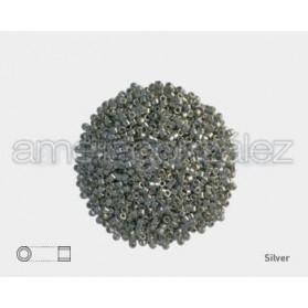 DELICA MIYUKI 11-0 N.35 PLATA METAL (100GR)