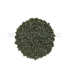 DELICA MIYUKI 11-0 N.307 GRIS PLATA MATE (100GR)