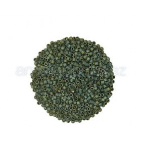 DELICA MIYUKI 11-0 N.324  VERDE IRIS MATE (100 GR)