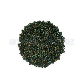 DELICA MIYUKI 11-0 N.24 VERDE METALIZADO (100 GR)