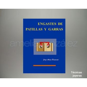 """LIBRO """" ENGASTE CON PATILLAS Y GARRAS """""""