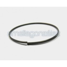 STEEL MEMORY WIRE (1,2MM) FOR 2 TURNS BRACELET (580MM)