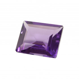 RECTANGLE HYDROTHERMAL SYNTHETIC AMETHYST