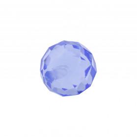 Topacio Azul Bola facetada 1T Hidrotermal
