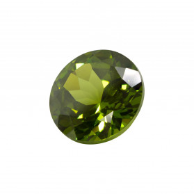 PERIDOT HYDROTHERMALE TAILLE RONDE