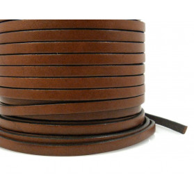 FLAT LEATHER BAND 5X2MM