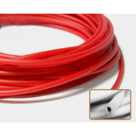 RED CORAL HOLLOW RUBBER N.356