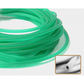 EMERALD GREEN HOLLOW RUBBER N.289