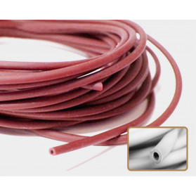BURGUNDY COLOR HOLLOW RUBBER N.042