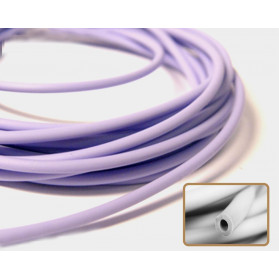 LILAC COLOR HOLLOW RUBBER N.446