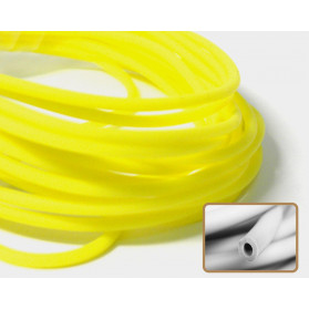 YELLOW COLOR HOLLOW RUBBER N.316