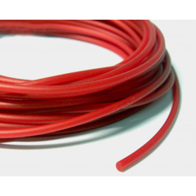 METALLIC RED SOLID RUBBER