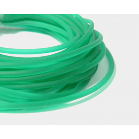 EMERALD GREEN SOLID RUBBER
